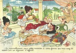 La table à travers les âges - Jean Bellus
