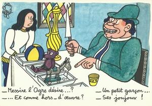 La table à travers les âges - Jean Effel