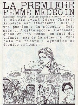 La première femme médecin