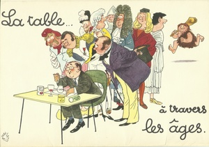 La table à travers les âges - Jean Bellus