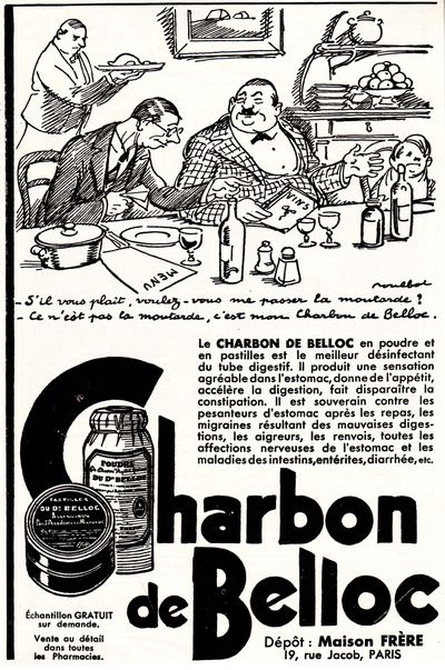 poulbot - charbon belloc