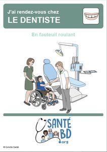 En fauteuil roulant chez le dentiste